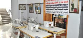 توريد عدد (4) ماكينات خياطة نوع جوكي لصالح الأخوات في مركز الفلاح النسائي