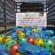بدعم من أطفال المدرسة الإسلامية للبنات في بريطانيا جمعية الفلاح الخيرية توزع الألعاب على الأطفال في مراكز الإيواء