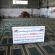 على نفقة فاعلي خير في سلطنة عمان وتنفيذ جمعية الفلاح الخيرية مساهمة بمبلغ 2000 دولار لتشطيب معرش للصلاة لصالح مسجد العمري شمال غزة