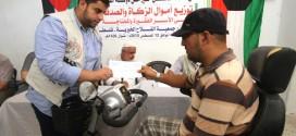 مساعدات مالية كويتية  لمئات الأسر الفقيرة والمحتاجة في محافظات قطاع غزة